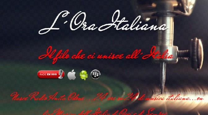 RADIO ANITA ODONE: Vanguardia en la difusión de la Cultura Italiana