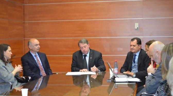 Comites Cile con Ambasciatore Marco Ricci ed On. Fabio Porta in visita a Santiago.