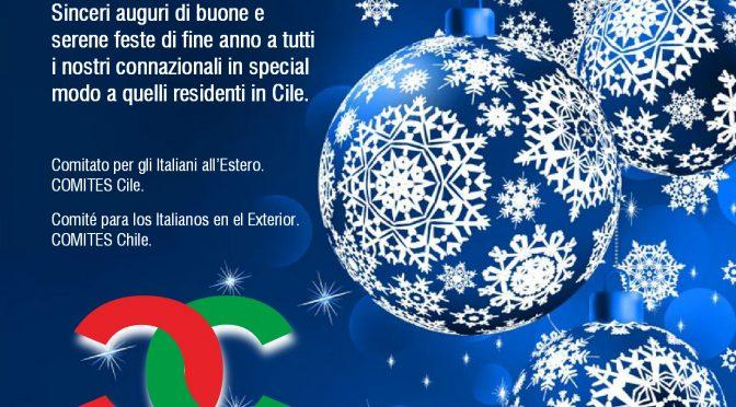 Buon Natale e Serene Feste di Fine Anno!