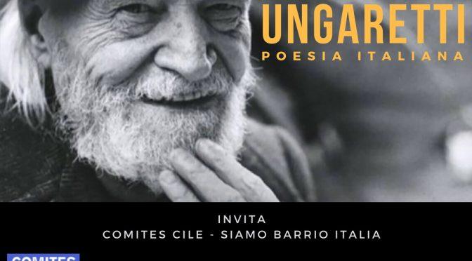 Barrio Italia: sábado 24 marzo, 19 horas lectura poética italiana