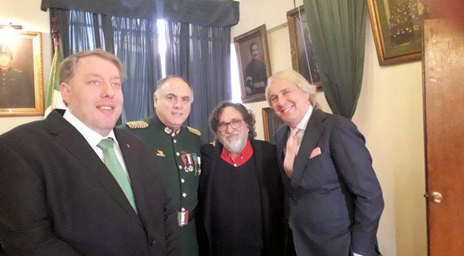 104º Anniversario Pompa Italia: Il saluto del Comites