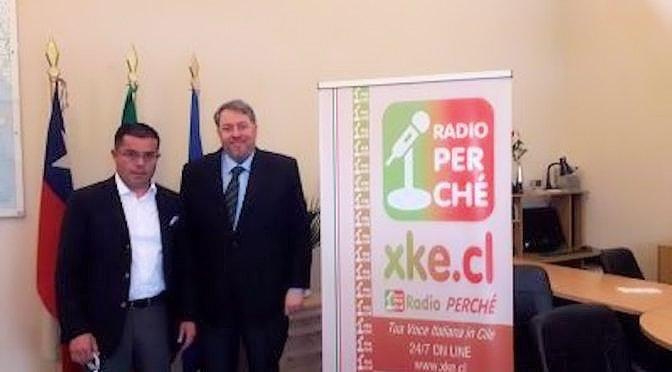 Nuevo Directorio de la Confederación de Compañías Italianas de Bomberos en Chile