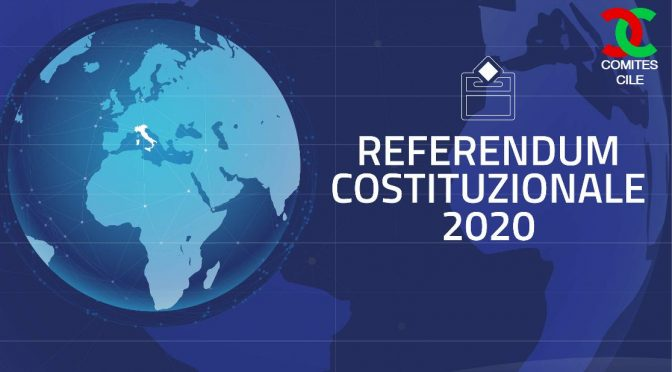 Referendum Constitucional Italiano 2020. Voto en Chile