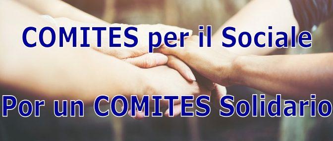 """""""COMITES per il Sociale"""": apoyando iniciativas solidarias"""