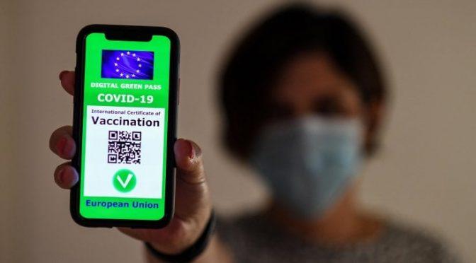 Procedimiento para obtener pase verde EU covid-19 para vacunados o recuperados en el Extranjero